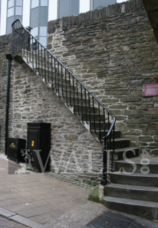 Steps at Magazine Gate