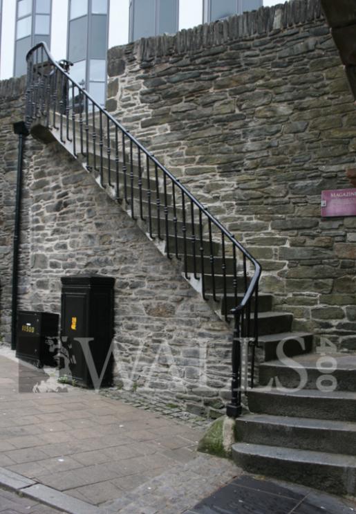 Steps at Magazine Gate