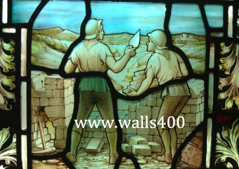 Building Derry's Walls 1613