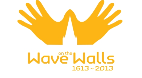 wave on the walls