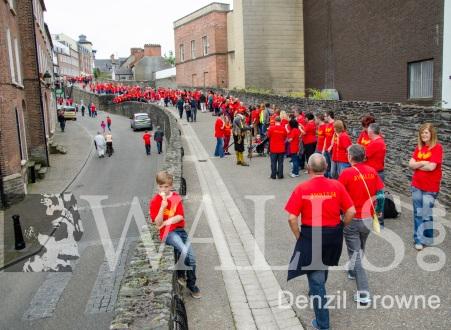 Derry Walls Day 2013 Denzil Browne - 13