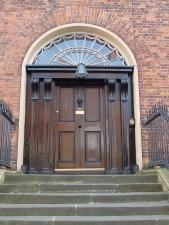 Deanery front door